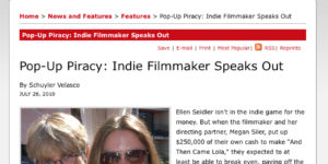 Ellen Seidler's intv. with Backstage
